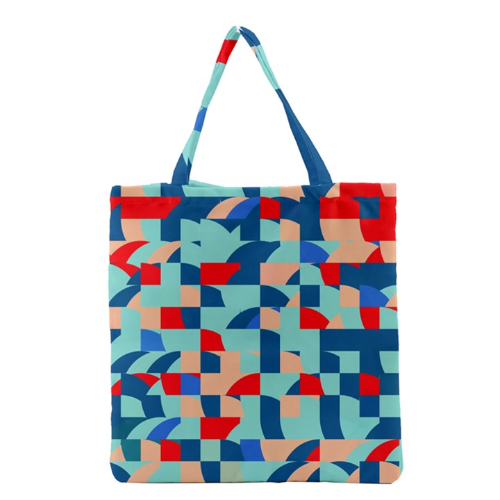 Miscellaneous shapes Grocery Tote Bag
