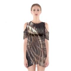 Copper Canyon Cutout Shoulder Dress