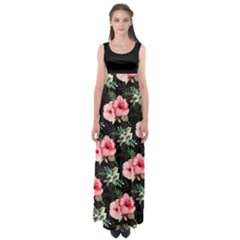 Hawaii3 Empire Waist Maxi Dress