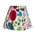 Color Ball Mini Flare Skirt View1