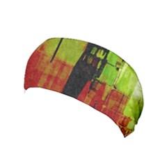 Grunge Texture             Yoga Headband