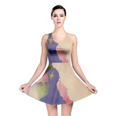 Fabric Textile Abstract Pattern Reversible Skater Dress