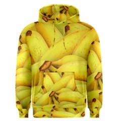 Yellow Banana Fruit Vegetarian Natural Men s Pullover Hoodie
