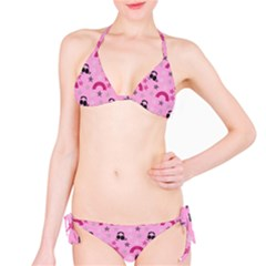 Music Stars Rose Pink Bikini Set