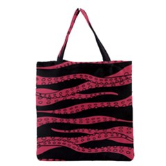 Blood Tentacles Grocery Tote Bag