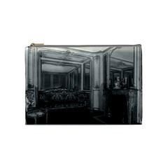 Vintage France Palace Versailles Mme Du Barry s Room Medium Makeup Purse