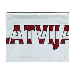Latvia Cosmetic Bag (xl)