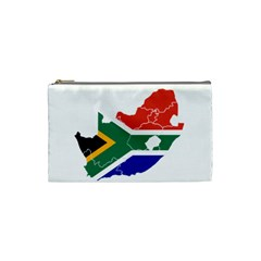 South Africa Flag Map Cosmetic Bag (small)