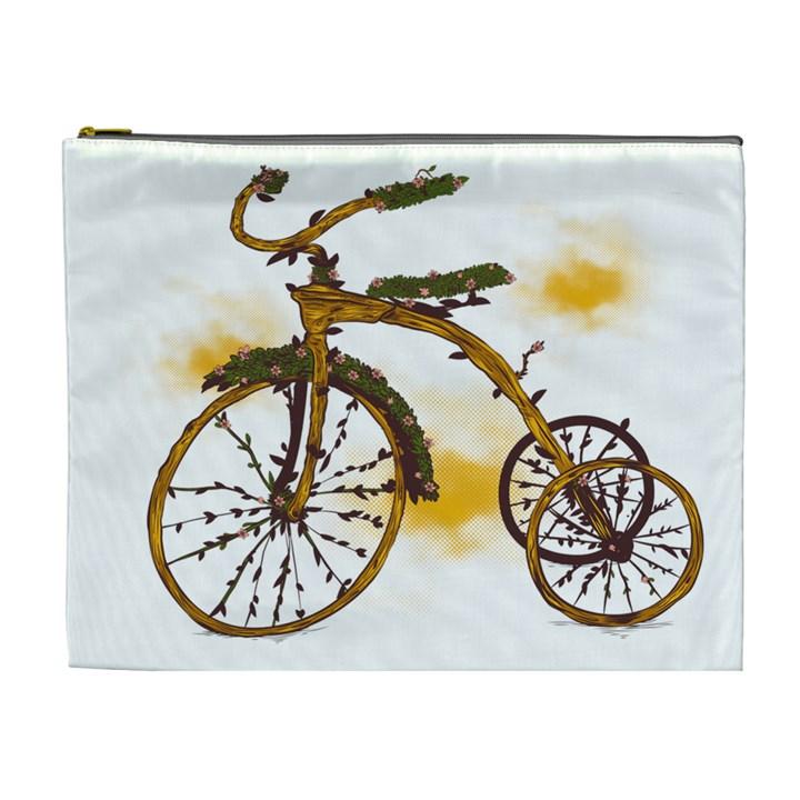 Tree Cycle Cosmetic Bag (XL)
