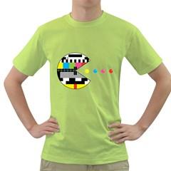 Color Eater Mens  T Shirt (green)