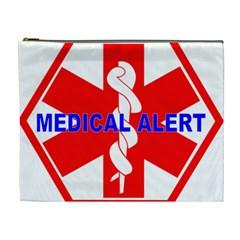 Medical Alert Health Identification Sign Cosmetic Bag (xl)