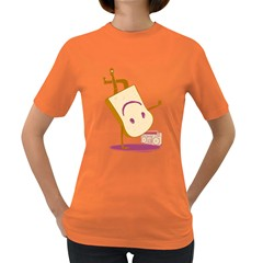Bread Dance Womens' T Shirt (colored)