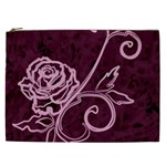 Rose Cosmetic Bag (XXL) Front