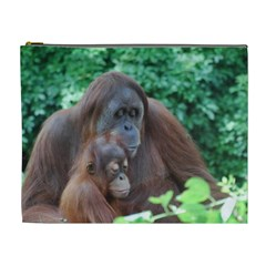Orangutan Family Cosmetic Bag (xl)