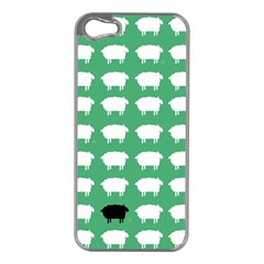 Herd Mentality  Apple Iphone 5 Case (silver)
