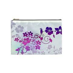 Floral Garden Cosmetic Bag (medium)