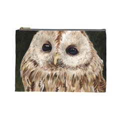 Tawny Owl Cosmetic Bag (large)