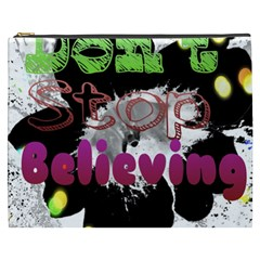 Don t Stop Believing Cosmetic Bag (xxxl)