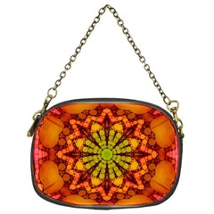 Florescent Abstract Chain Purse (one Side)