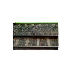 Railway Track Train Cosmetic Bag (xs)
