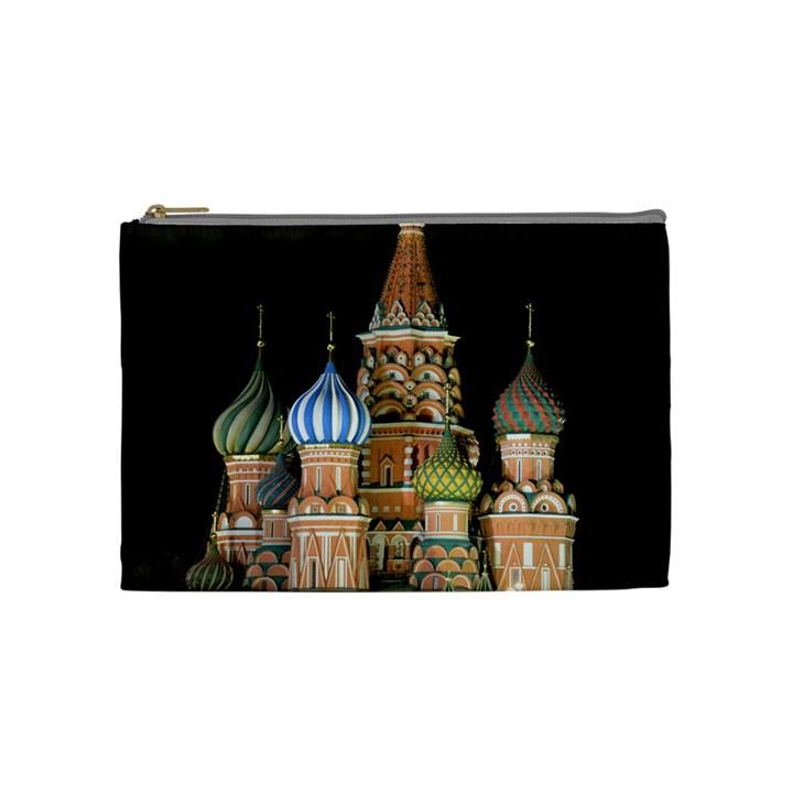 Saint Basil s Cathedral  Cosmetic Bag (Medium)