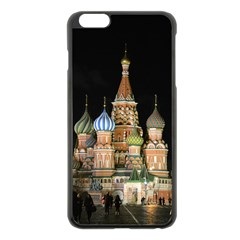 Saint Basil s Cathedral  Apple Iphone 6 Plus Black Enamel Case