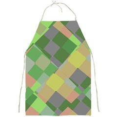 Squares And Other Shapes Full Print Apron