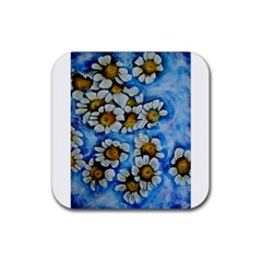 Floating On Air Rubber Coaster (square)