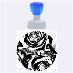 Gorgeous Roses,purple  Rubber Round Stamps (large)