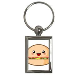 Kawaii Burger Key Chains (rectangle)