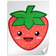 Kawaii Strawberry Canvas 36  X 48