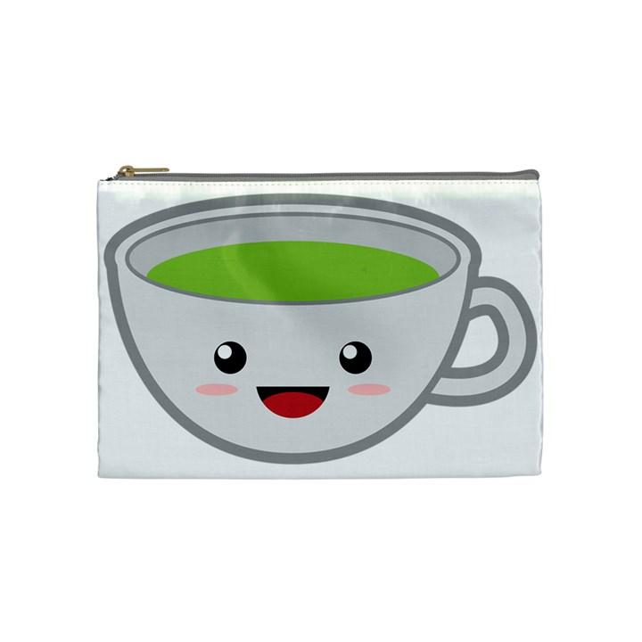 Kawaii Cup Cosmetic Bag (Medium)