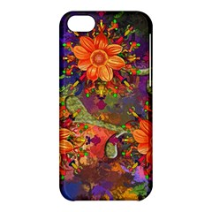 Abstract Flowers Floral Decorative Apple Iphone 5c Hardshell Case
