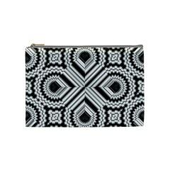 Pattern Tile Seamless Design Cosmetic Bag (medium)