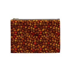 Pattern Background Ethnic Tribal Cosmetic Bag (medium)
