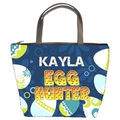 Easter Egg Hunter Risen Bucket Handbag