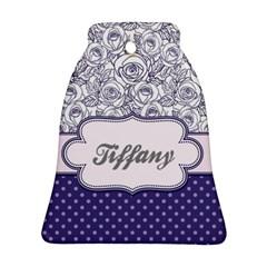 Pattern Purple 2 Ornament (bell)