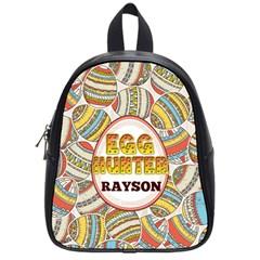 Egg Hunter Colorful School Bag (small)