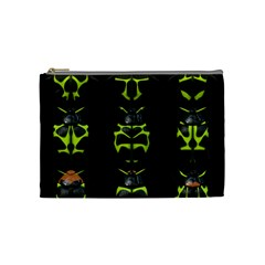 Beetles Insects Bugs Cosmetic Bag (medium)
