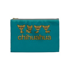 Chihuahua Cosmetic Bag (medium)