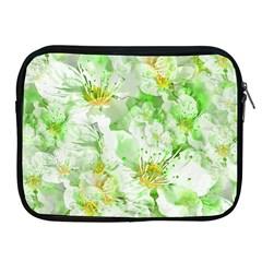 Light Floral Collage  Apple Ipad 2/3/4 Zipper Cases